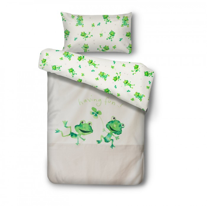 Baby bedding FUNNY FROG