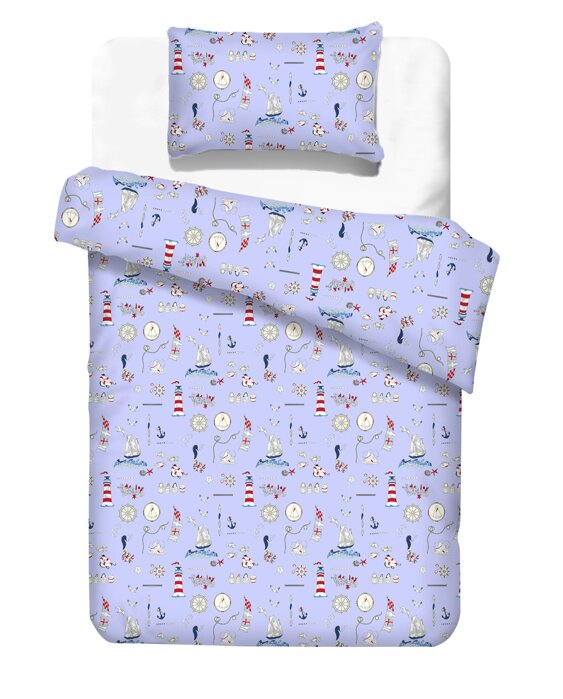 Kids  bedding LIGHT HOUSE Blue