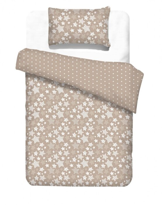 Kids bedding SUPERSTARS Mocca