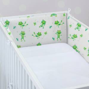 Cot protector FUNNY FROG