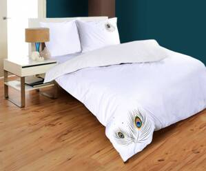 Bed linen SATURNIAN WHITE