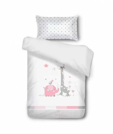 Baby bedding SAFARI Rosa