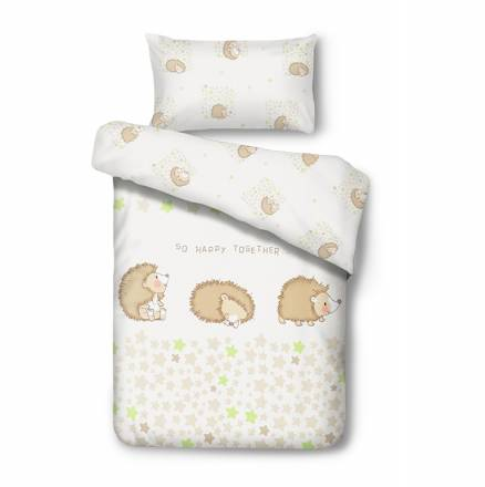 Baby bedding HAPPY HEDGEHOG