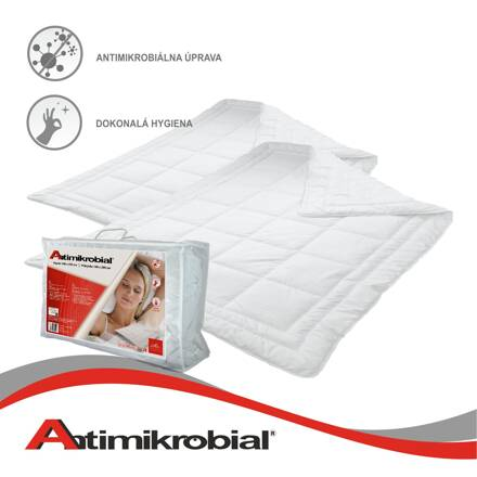 Set Antimikrobial Thermo |2x 140x200 cm | 1200 g